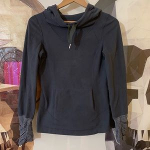 Lululemon Fleece Pullover Coal grey hoodie sweater